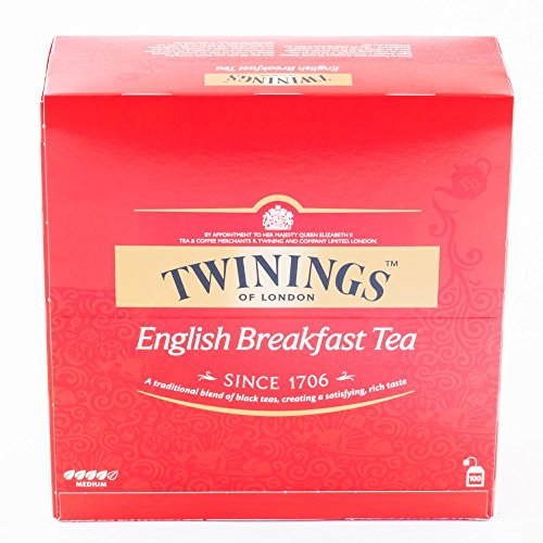 CONFEZIONE ENGLISH BREAKFAST TEA TWININGS Tè NERO 100 BUSTINE