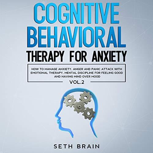 Cognitive Behavioral Therapy for Anxiety audiobook cover art