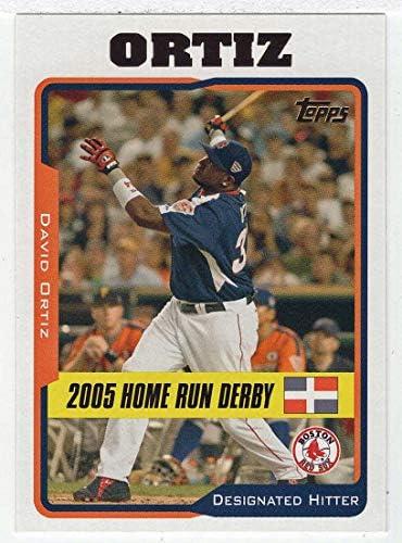 David Ortiz Baseball Card 2005 Topps Updates UH 198 NM MT product image