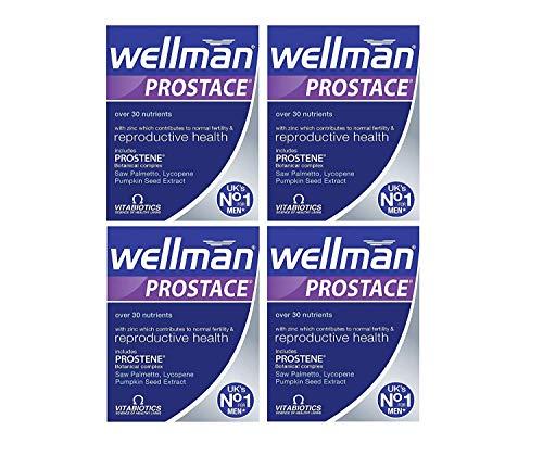 4 x Vitabiotics Wellman Prostate 60 Tablets