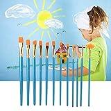 Juego de brochas, Nylon 12 Pincel de dibujo, Arte Pintura Set para Artista Pintura Herramienta para Pintura de Acuarela