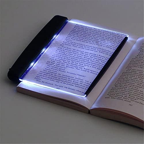 ZGHYBD Creativa Nueva Lámpara LED De Placa Plana para Libros, Lectura Nocturna, Portátil, Lámpara De Dormitorio En Casa, Alivia La Fatiga Ocular, Adecuada para Leer En La Oscuridad