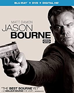 Jason Bourne [Blu-ray + DVD + Digital HD] (B01IUP27OS) | Amazon price tracker / tracking, Amazon price history charts, Amazon price watches, Amazon price drop alerts