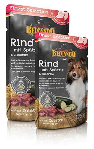 ベルカンド (BELCAND) ビーフ 南ドイツ風麺とズッキーニ 300g パウチ 6個入り
