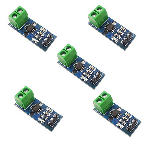 ZkeeShop 5 stücke ACS712 5A Stromsensor Modul Compatible für Arduino