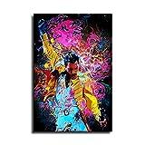 Freddie Mercury Poster Cartoon Poster Bild Druck Büro