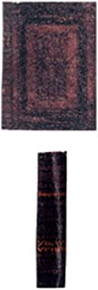 Casa De Muñecas Negro Santa Biblia S//1 miniatura accesorio dormitorio de la Iglesia