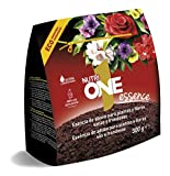 Nutrione Abono sólido Concentrado Essence para Plantas. Fertilizante hidrosoluble Premium, 300 g, Negro, gr