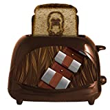 Star Wars Chewbacca Empire 2-Slice Toaster- Toasts Chewy's Face onto Your Toast