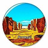 Portugal Playa Algarve Imán de Nevera, imánes Decorativo, abridor de Botellas, Ciudad turística, Viaje, colección de Recuerdos, Regalo, Pegatina Fuerte para Nevera