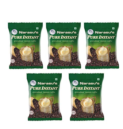 Narasus Coffee Narasus Pure Instant Coffee 50Gms - Pack Of 5