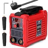 KKmoon Soldador Inverter, Máquina de Soldadura Eléctrica 20-225A MMA-225 Mini Inversor Doméstico Portátil 220 V IGBT Máquina Digital con Puerto USB