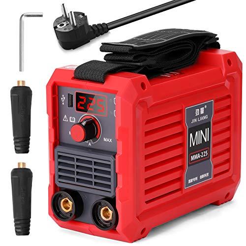 KKmoon Soldador Inverter, Máquina de Soldadura Eléctrica 20-225A MMA-225 Mini Inversor Doméstico...