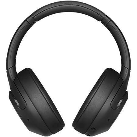ソニー ワイヤレスノイズキャンセリングヘッドホン WH-XB900N : 重低音モデル / Amazon Alexa搭載 / bluetooth / 最大30時間連続再生 2019年モデル / マイク付き 360 Reality Audio認定モデル ブラック WH-XB900N BC