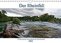 Der Rheinfall - Ein Spaziergang um das gigantische Naturschauspiel (Wandkalender 2022 DIN A4 quer): Gigantisches Naturschauspiel Rheinfall (Monatskalender, 14 Seiten )
