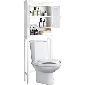 Estanter/ías para ba/ño Estanteria WC Estante Encima del Inodoro