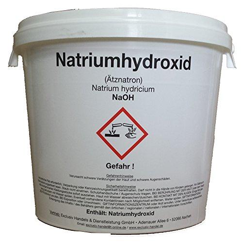 Natriumhydroxid (Ätznatron) NaOH 5000 g (5 KG)