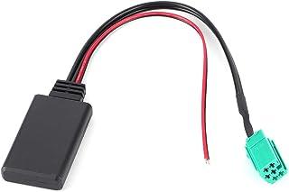 zhuolong Coche Módulo Bluetooth Audio Estéreo Cable de Radio Auxiliar Conector de 6 Pines para Renault Clio/Espace/Laguna