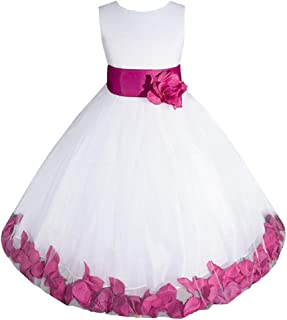 Big/Little Girls Flower Girl Communion Pageant Wedding Easter Dress