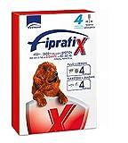 Fipratix - Antiparasitario para pulgas, garrapatas y Mosquitos en pipetas para Perros pequeños