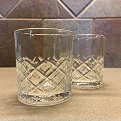 Set of two high quality Courvoisier glasses
