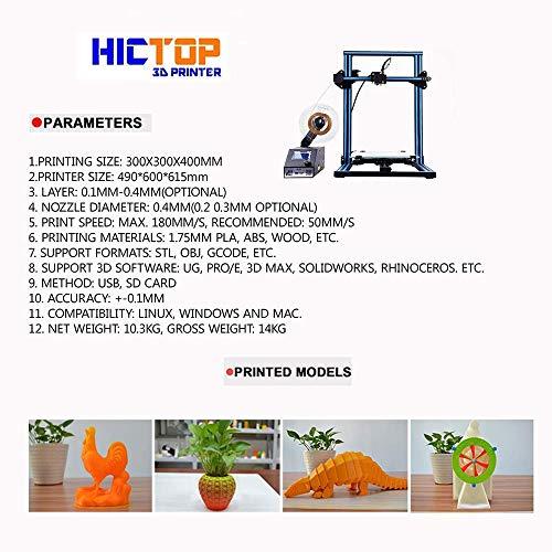 HICTOP – 3DP22 (CR-10S) - 3