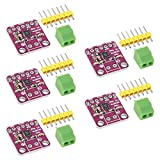 AITRIP 5PCS MAX98357 I2S Audio Amplifier Module,Audio Amplifiers Filterless Class D Amplifier,for Arduino ESP32 Raspberry Pi