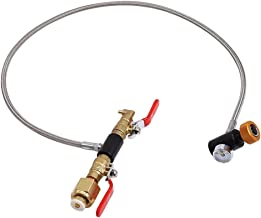 Varadyle Upgrade W21.8-14 CO2 Cylinder Refill Hose, CO2 Refill Station Connector Kit for Filling Soda Maker (36 Inch)