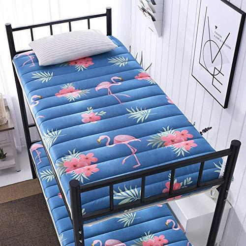 Esteras de tatami de estilo japonés, colchones de estudiantes plegables, colchones plegables de futón de tatami, almohadillas de colchón suaves y gruesos para dormitorios de estudiantes individuales y