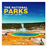 2021-2022 Wall Calendar - 18 Monthly Wall Calendar 12 x 12 Inch with Thick Paper and Bright Colors, Jan. 2021 - Jun. 2022 - Yellow Stone