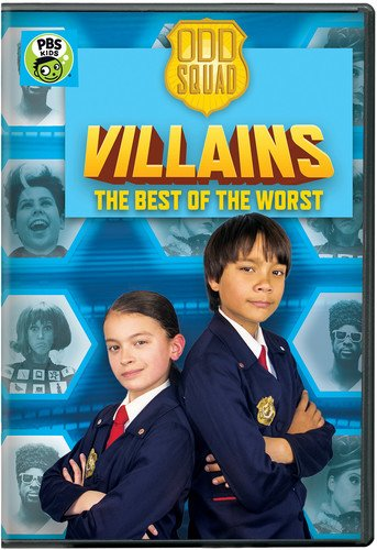 Odd Squad: Odd Squad Villains - The Best of the Worst DVD