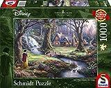 Schmidt Spiele- Disney Blanche-Neige 59485-Puzzle (1000 Piezas), diseño de Blancanieves de Thomas Kinkade, Color carbón, 693 x 493 mm (59485)