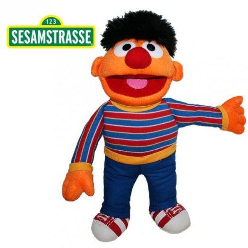Sesamstraße Ernie 37 cm | Plüsch Figur | Kuscheltier | Stofftier