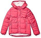 Amazon Essentials Girls' Big Heavy-Weight Hooded Puffer Coat, Raspberry Pink, Medium