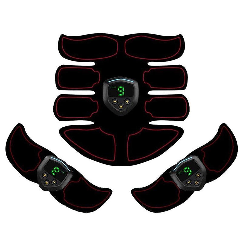 男やもめ代替バッグABS刺激&筋肉トナー腹部調色ベルト&EMSボディ筋肉トレーナー脂肪バーナー機器6モード9グレード刺激強度ポータブルusb充電器 (Color : Plain weave, Size : 2B+A)