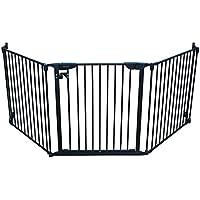 Cardinal Gates Expandable Wide Pet Gate (Black)