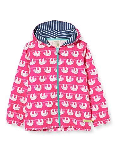 loud + proud Mädchen Outdoor Jacket Organic Cotton Jacke, Rosa (Azalea Aza), (Herstellergröße: 122/128)