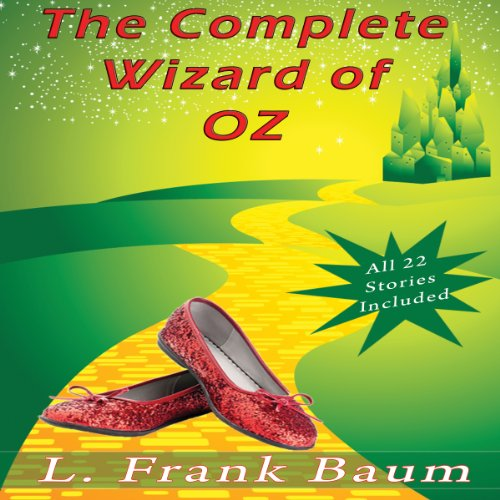 The Complete Wizard of Oz Collection audiobook cover art