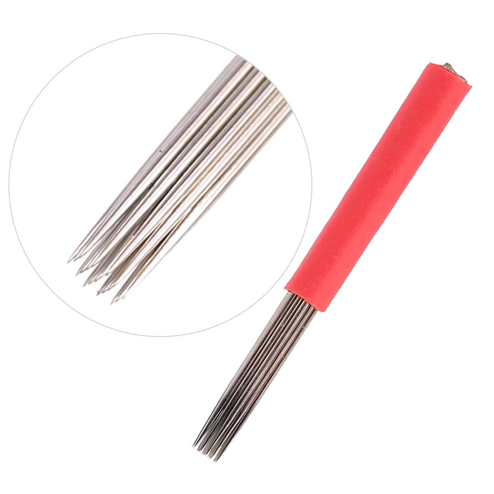 Tattoo Needles Don't miss the campaign 50pcs 19 Max 79% OFF Eyebrow Fog Ne Microblade