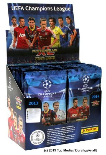 Sammelkarten Panini Adrenalyn UEFA Champions League 2013-2014, 50 Stück