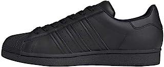 adidas Originals Superstar Shoes, Basket Hommes, Noir, 18 UK