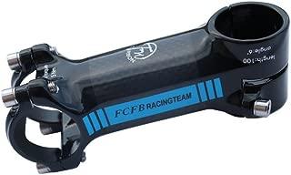 FCFB stem glossy blue mtb bike road bike alloy + 3k carbon angle 6 stem road bike stem China Patent ZL 2013 20480319X super light 100mm 122g