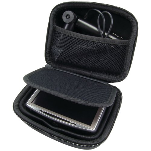 Arkon Carrying Case for 3.5 - 4.3 Inch GPS Devices-Black
