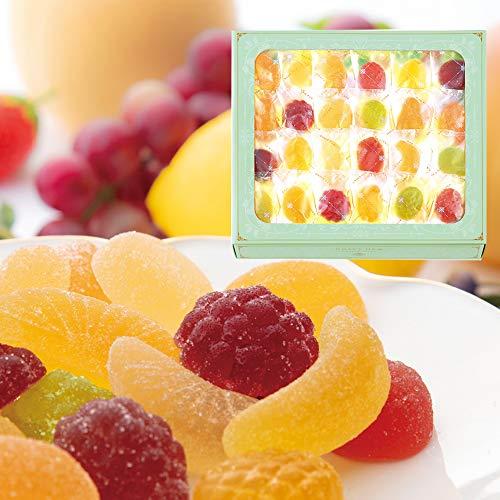 西洋菓子鹿鳴館 フルーツゼリー 恵みのしずく 46個入(ギフト スイーツ 母の日)