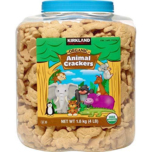Kirkland Signature Organic Animal Crackers, 64 oz, 4 lbs