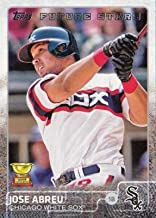 Jose Abreu baseball card (Chicago White Sox) 2015 Topps All Star Rookie Cup Future Stars #176