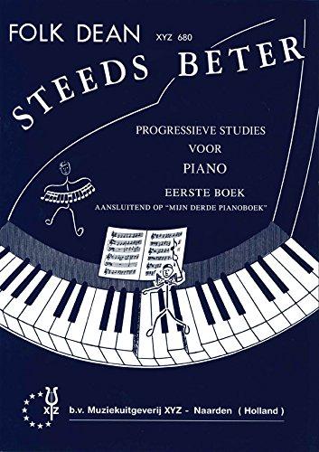 Steeds Beter 1 - Piano - Buch