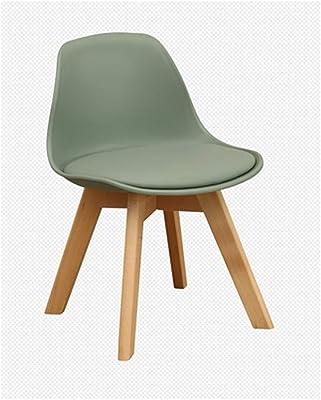 Amazon.com: Sillas de comedor de tela retro sillón de ocio ...