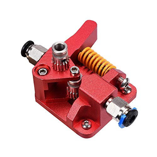 SNOWINSPRING Aluminum Upgrade Dual Gear Mk8 Extruder Kit for CR-10S PRO Ender 3Pro RepRap 1.75mm 3D Parts