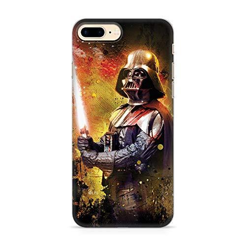 Ert Group SWPCVAD3959 Star Wars Cubierta del Teléfono Móvil, Darth Vader 012 iPhone 7 Plus/ 8 Plus